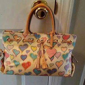 Dooney&Bourke Vintage IT Heart Bag